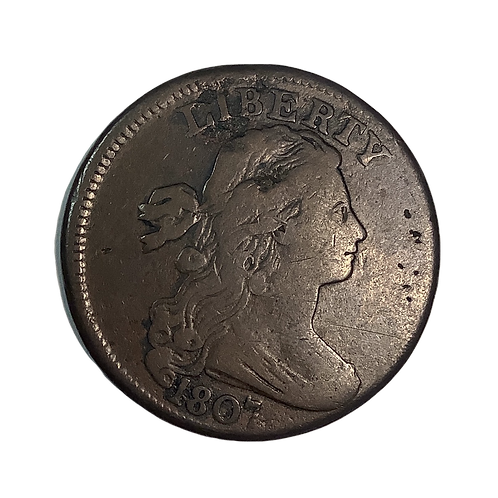 "1807 Large Cent ""Large Fraction"""