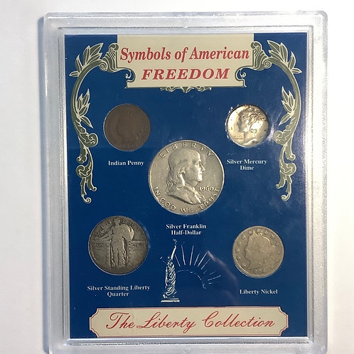 The Liberty Collection Coin Set