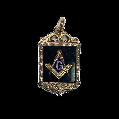 Masonic Gold Filled Pendant