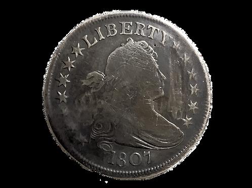 1807 Bust Half Dollar