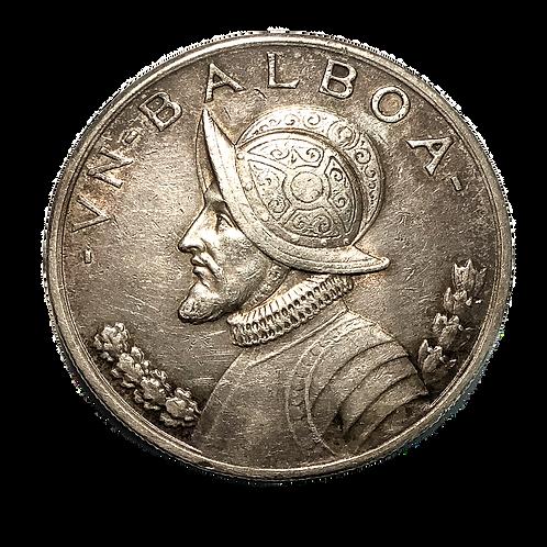1931 ONE BALBOA SILVER DOLLAR