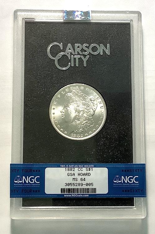1882 CC  MS 64