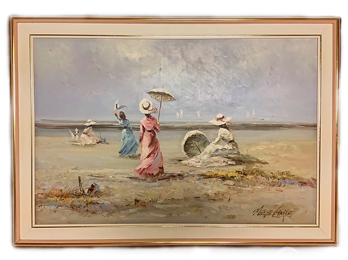 Impressionist Painting by Marie Charlot