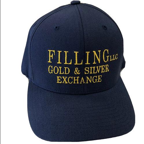 Filling Gold & Silver Exchange Baseball Cap