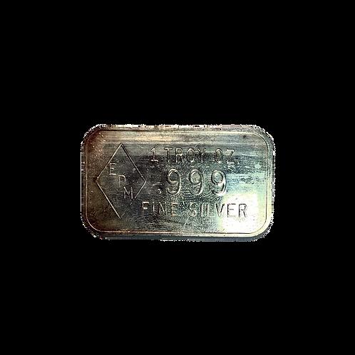 EPM 1oz .999 Silver Bar