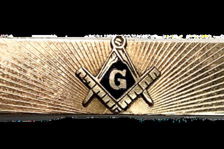 Masonic  Anson Tie Clip