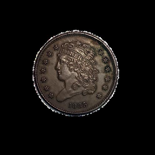 1835 Half Cent AU