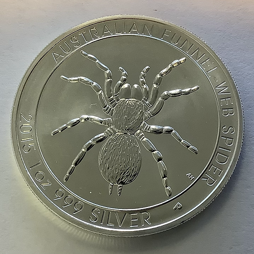 "2015 AUSTRALIAN  "" SPIDERS"" .999"