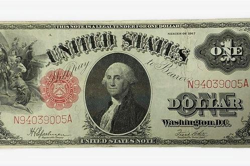 $1 Legal Tender note 1917 series