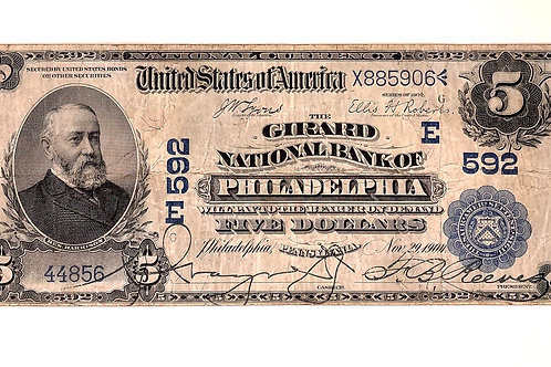 $5 National Bank Note