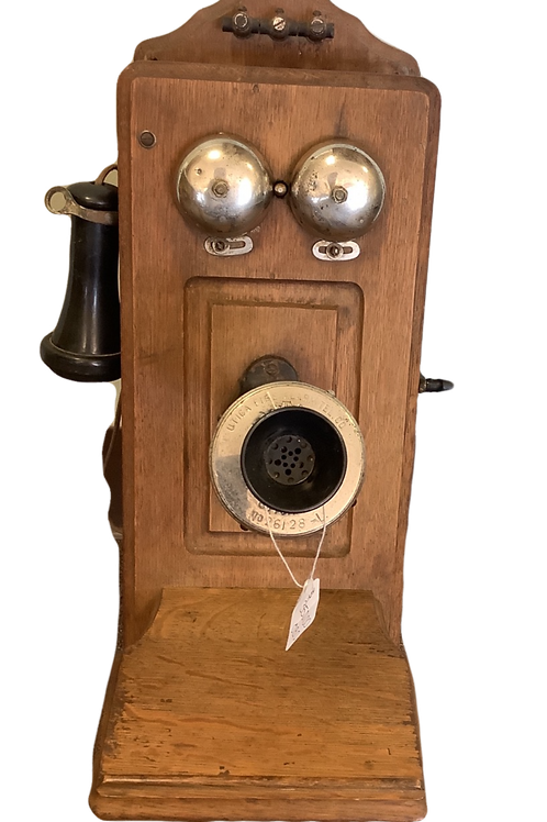 Antique crank Style Utica  Fire Co. Phone
