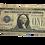Thumbnail: $1 note series of 1928 a  blueseal