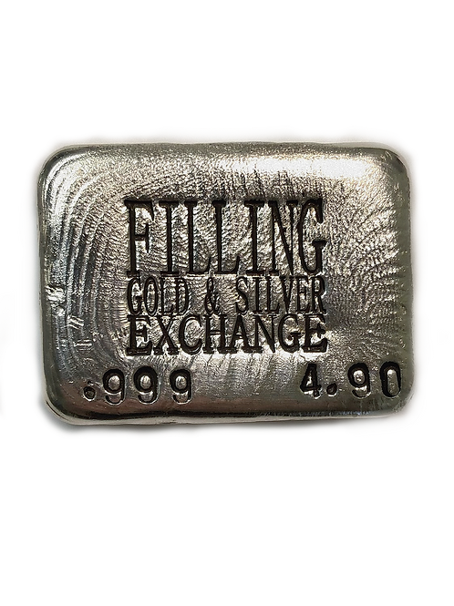 Store Brand 4.90oz 999 Silver Bar