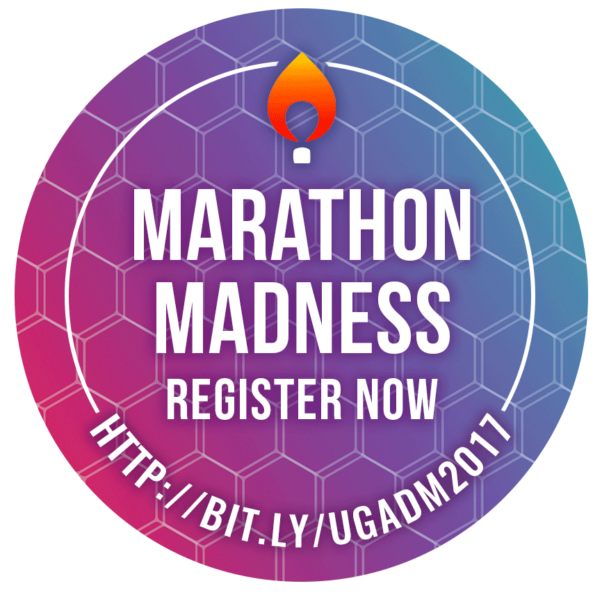 Marathon Madness Promotional Sticker
