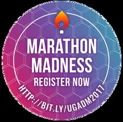 Marathon Madness Promotional Sticker