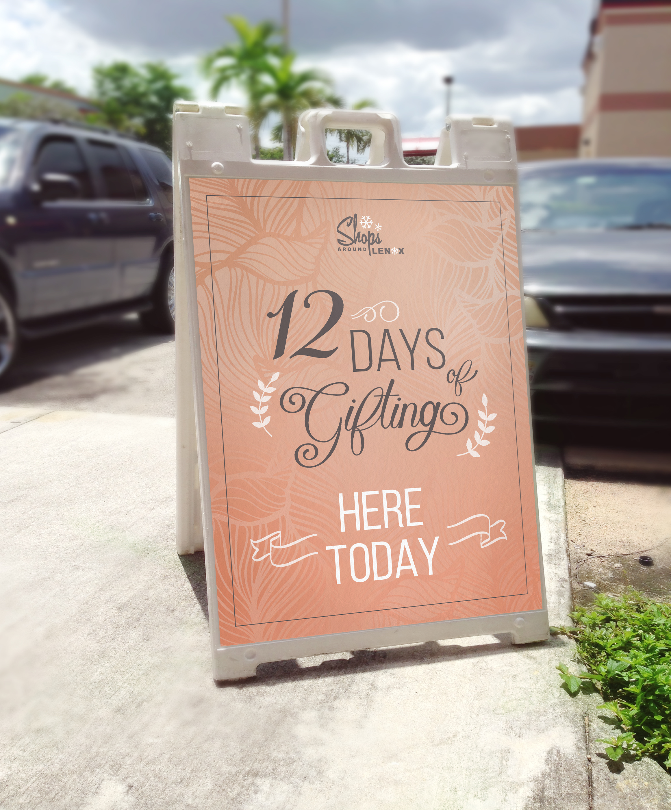 12 Days of Gifting Aframe