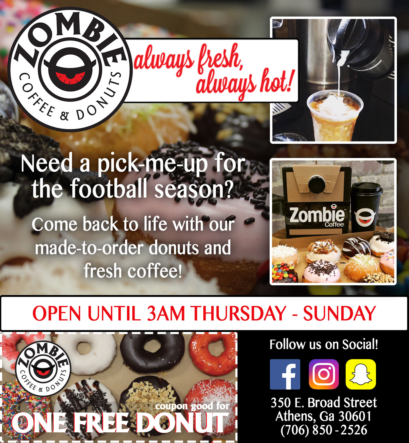 Zombie Coffee & Donuts