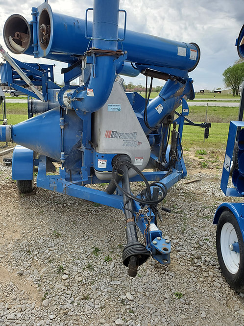 Brandt 7500 Grain Vac 2011 Model