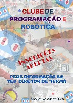Cartaz Clube Robótica