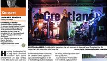 Greatland konsert - Hankø - Terningkast 5