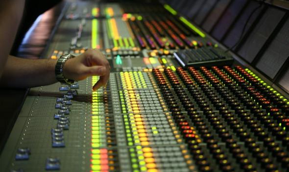 Studioarbeide - nye låter