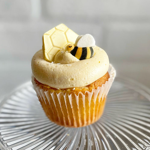 Golden Honey Cupcake of the month