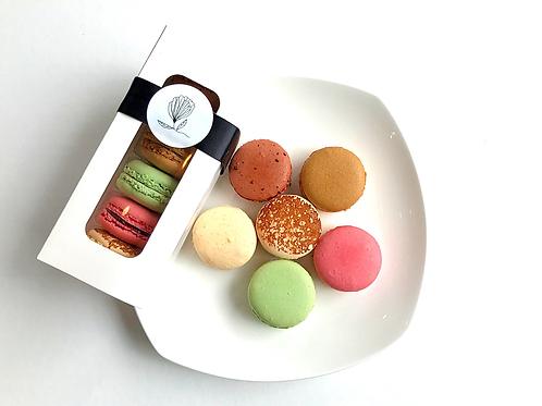 (Gluten free) French Macaron Box of 6