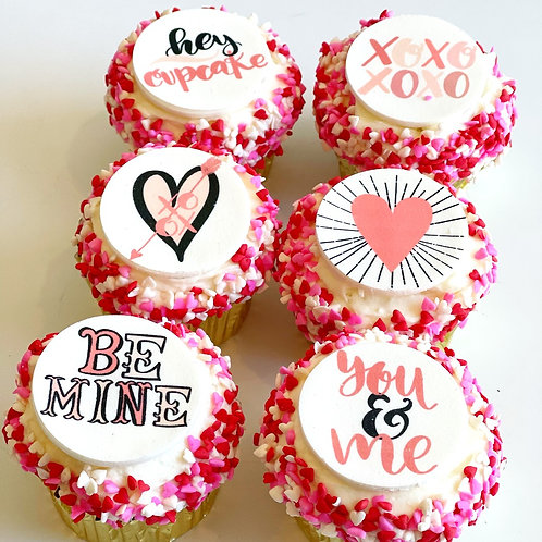 Valentine's Day Cupcakes- PINKS