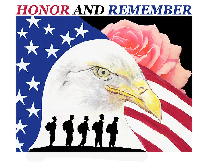 Honor and Remember Wall Art