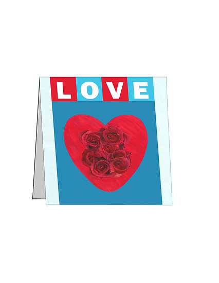 LOVE Heart Notecard - Set of 4