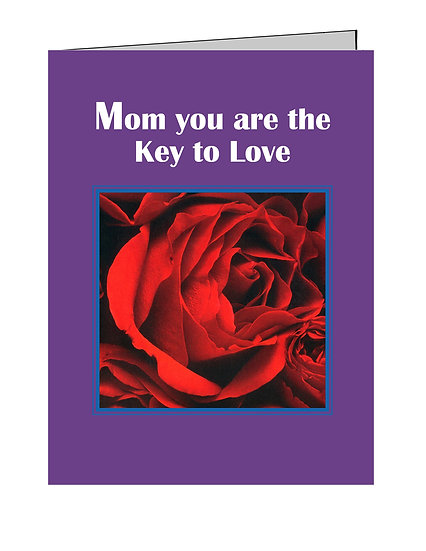Lovely Roses Notecard with Verse - Set of 2