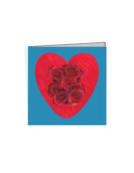 Heart Notecard - Set of 4