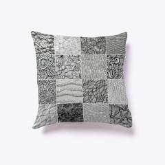 Cornucopia of designs pillow
