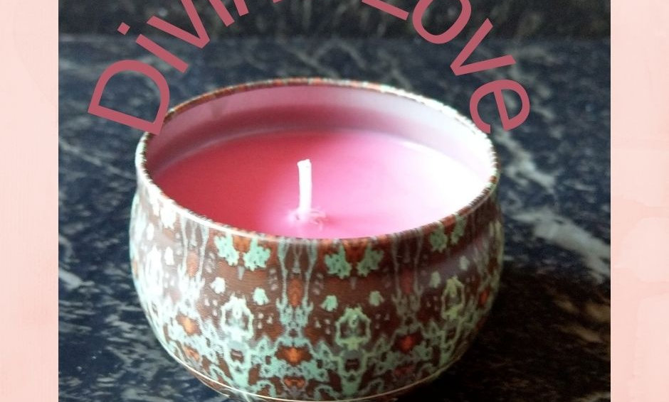 Divine Love Scented Candle