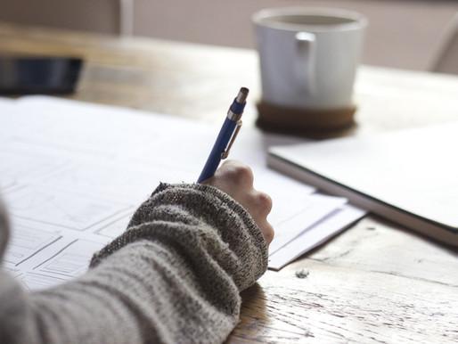 Write Yourself Into Calmness