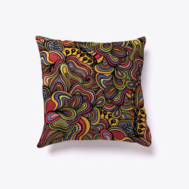 Sparks of Color Pillow