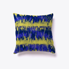 Yellow and Blue Tie-dye