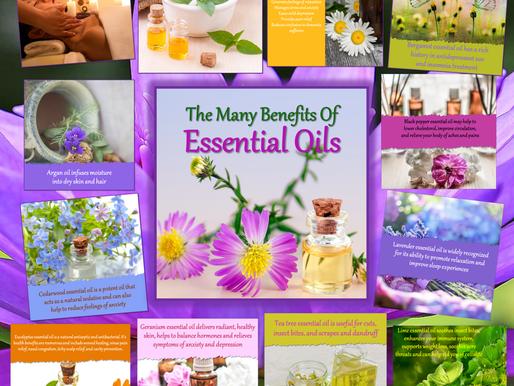 Essential Oils Aren't New (The Essential Oils Series)
