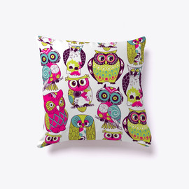 It's an Owl Party Pillow