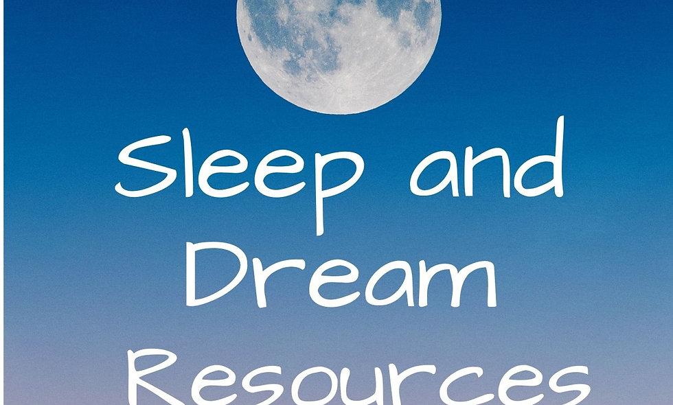 Sleep and Resources List