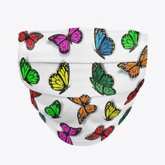 Fluttering Butterfly Facemask