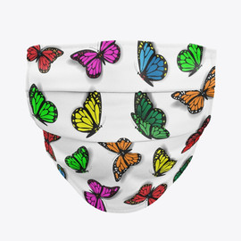 Fluttering Butterfly Facemask