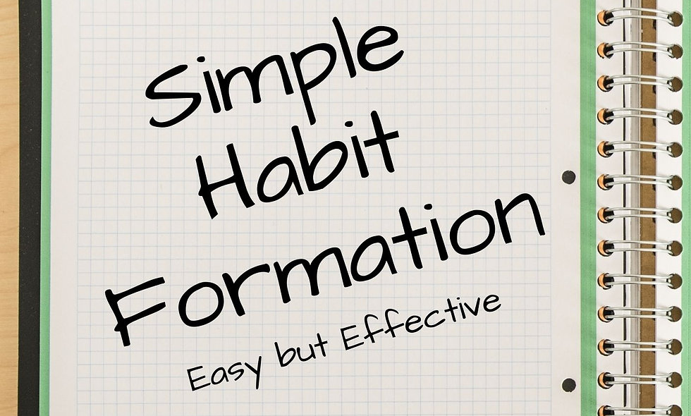 Simple Habit Formation