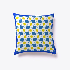 Squares and squares Pillow