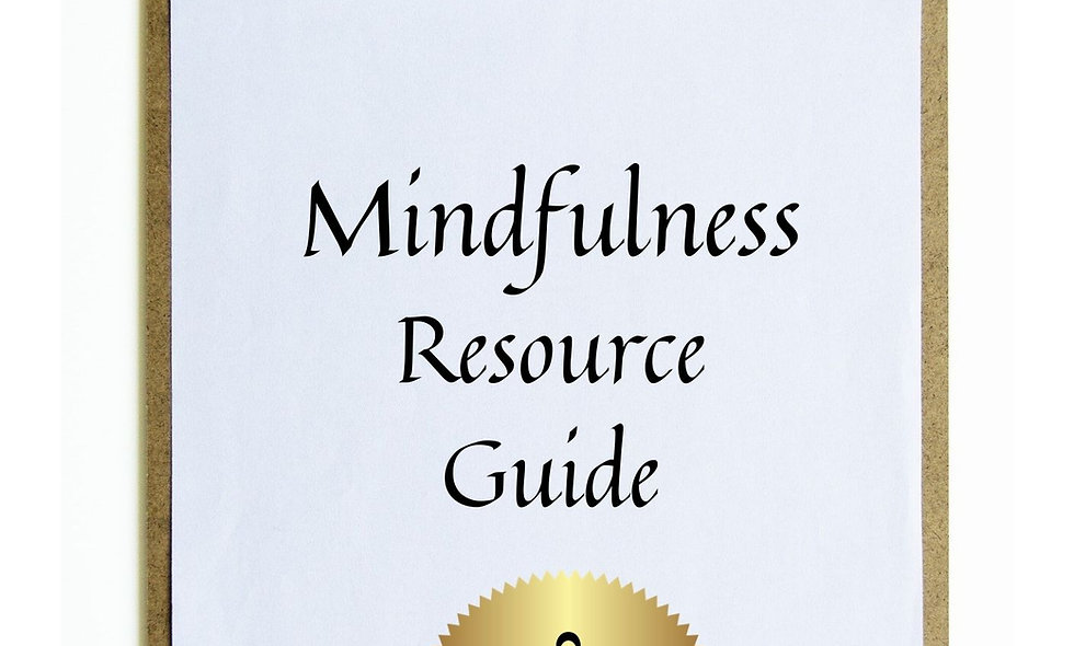 Mindfulness Resource List