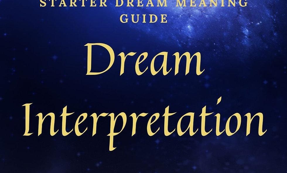 Dream Interpretation Starter Guide