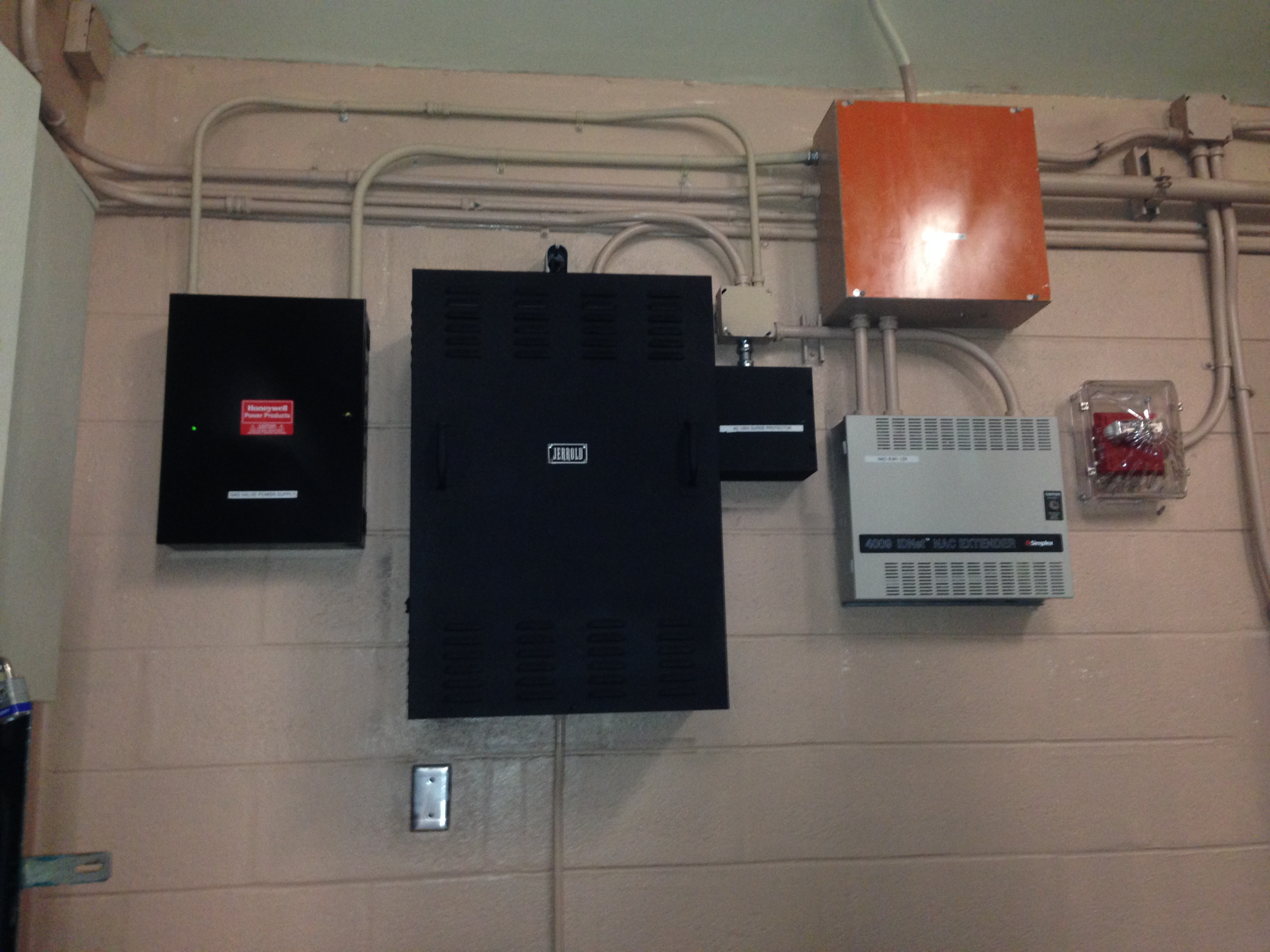 Access Control Panels/Power Supply