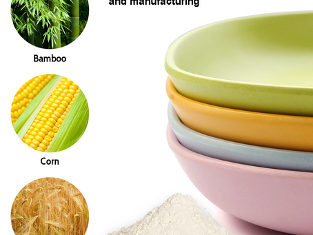 Our Colorful Bamboo Fibre Plates