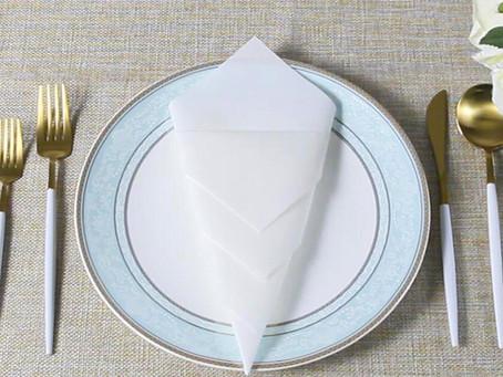 9 Easy Ways to Fold Napkins for Wedding