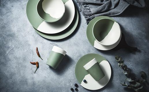 bamboo camping plates